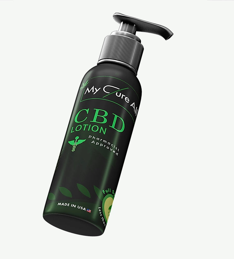 CBD topical for pain. Pharmacist approved all natural organic CBD lotion