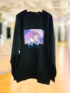 """Night"" Graphic Sweatshirt"