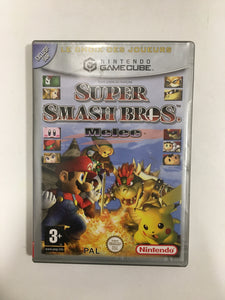 super smash bros melee Nintendo gamecube FRA avec notice