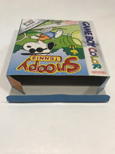 Charger l'image dans la galerie, Snoopy tennis FAH Nintendo game boy color avec notice