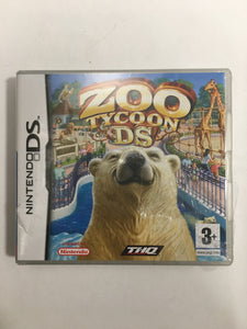 Zoo tycoon Nintendo ds neuf sous blister