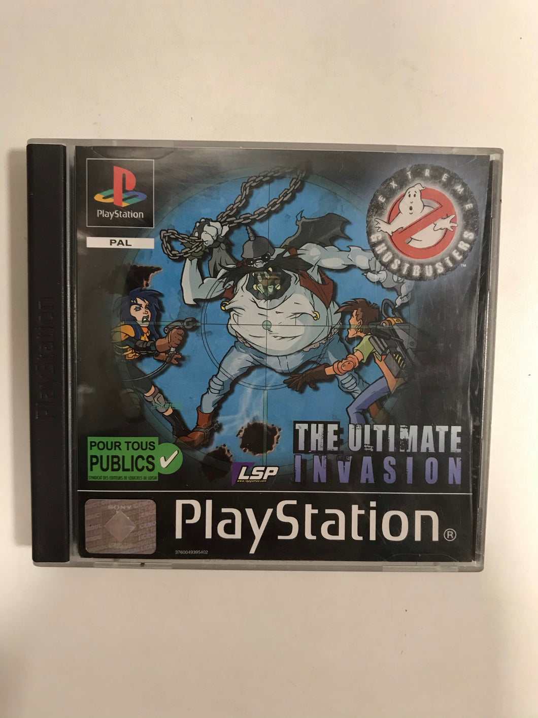 Extrême ghosbusters PAL Sony ps1 avec notice