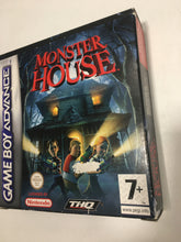 Charger l'image dans la galerie, monster house  Nintendo Game boy advance avec notice