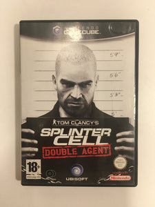 Tom clancy's splinter cell double agent Nintendo Game cube PAL avec notice