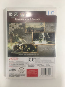 The légend of Zelda twilight princess Nintendo wii avec notice