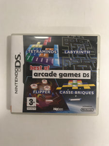 best of Arcade games Nintendo ds avec notice