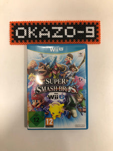 Super smash bros EUR Nintendo wii u avec notice
