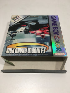 f1 world grand prix Nintendo Game boy advance avec notice