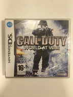 Call Of Duty World At War Nintendo ds neuf sous blister