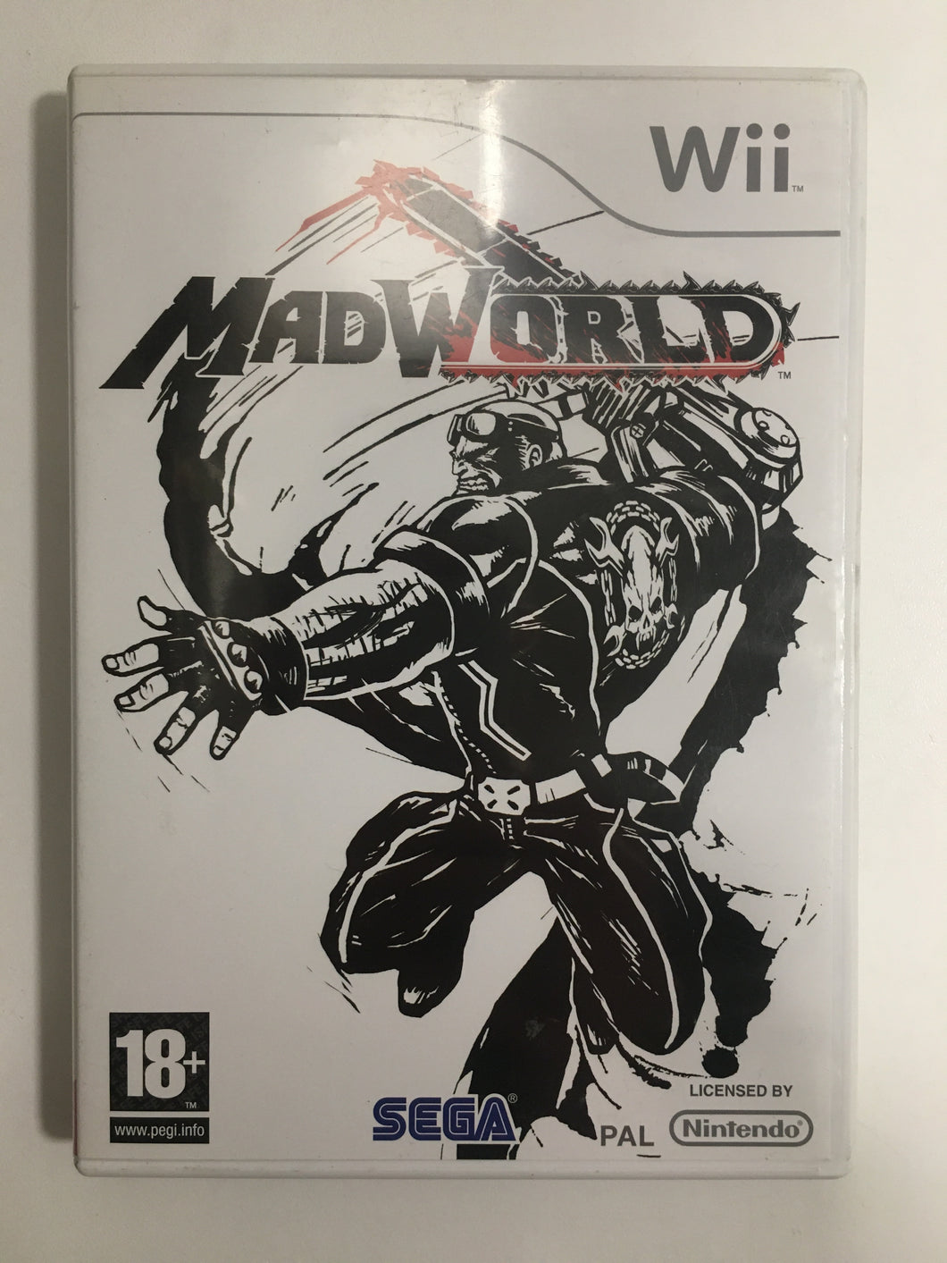 MAD Worlds Nintendo wii complet