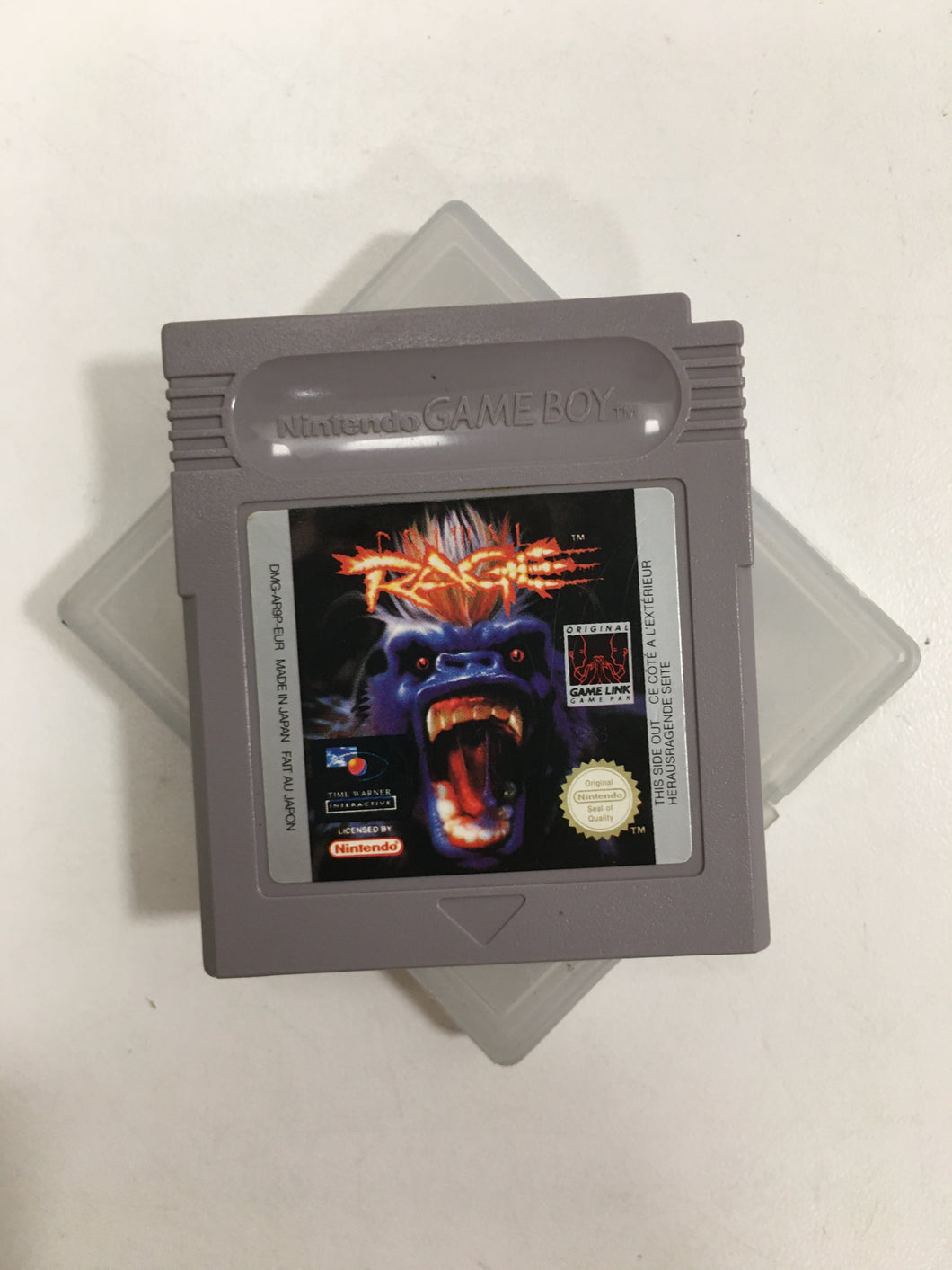 primal rage nintendo game boy