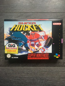 Super hockey super  Nintendo neuf