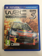 WRC 3 fia world rally championship Sony ps vita avec notice