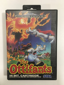 The ottifants sega megadrive avec notice