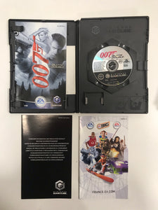 007 quitte ou double PAL  Nintendo game cube complet