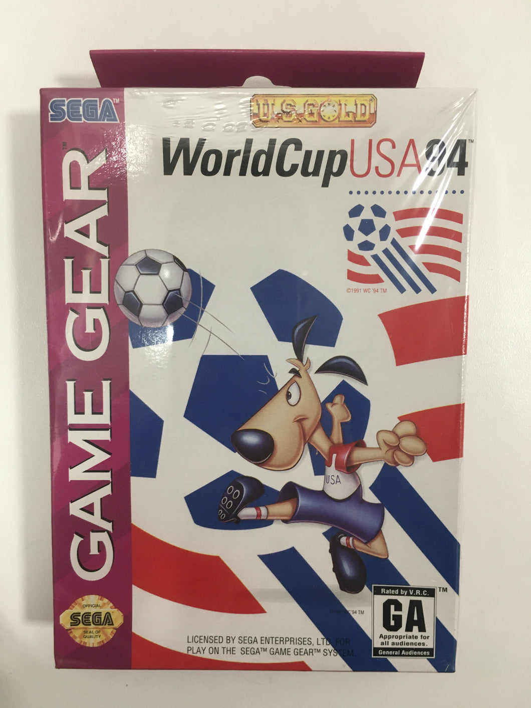 World cup usa 94 sega Game gear neuf sous blister