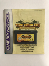 Charger l'image dans la galerie, fire emblem the sacred stones EUR nintendo Game boy advance avec notice