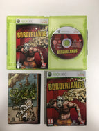 Borderlands Xbox 360 PAL complet avec couverture cartonnée