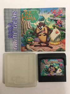 Taz mania sega Game gear avec notice