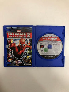 Marvel ultimate alliance 2 PAL Sony Ps2 avec notice