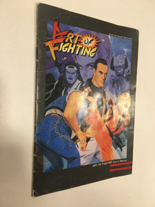 art of fighting neo geo snk avec notice