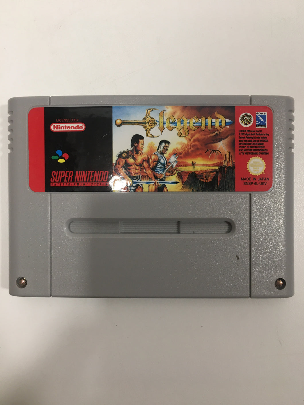 Legend super Nintendo