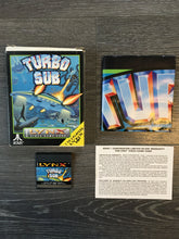 Charger l'image dans la galerie, TURBO SUB atari lynx Complet