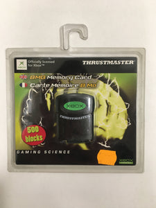 Xbox memory card thrustmaster neuf sous blister
