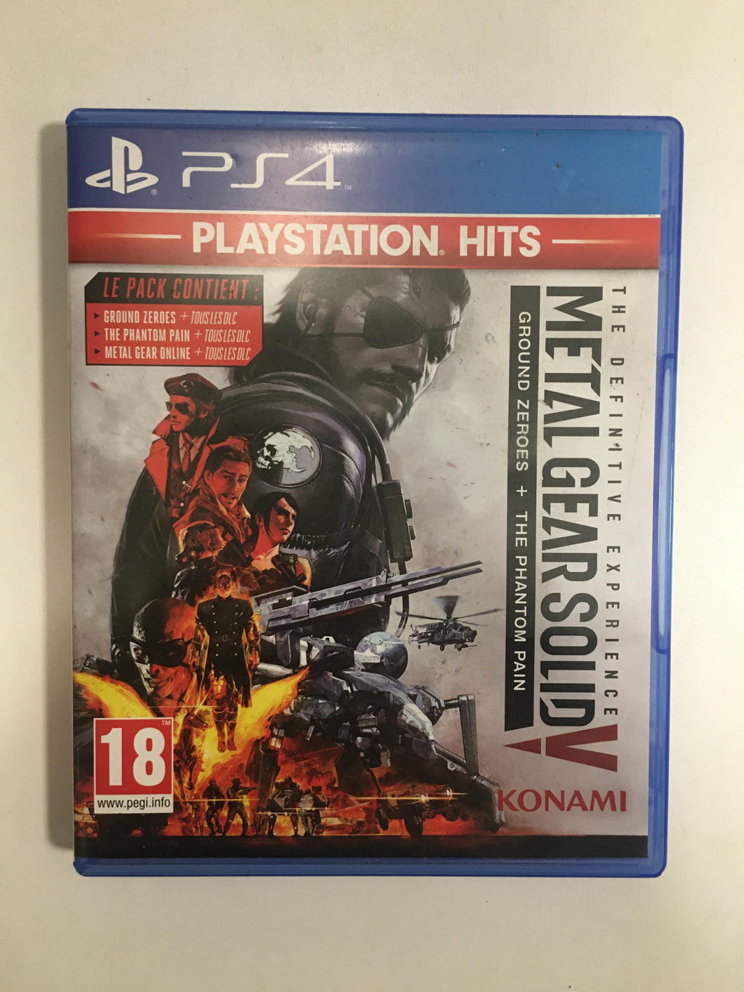 metal gear solid 5 Sony ps4
