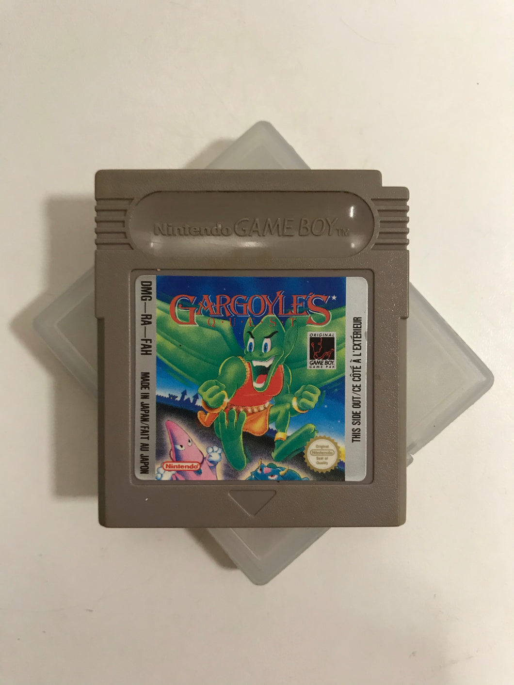 gargoyle's quest FAF Nintendo game boy