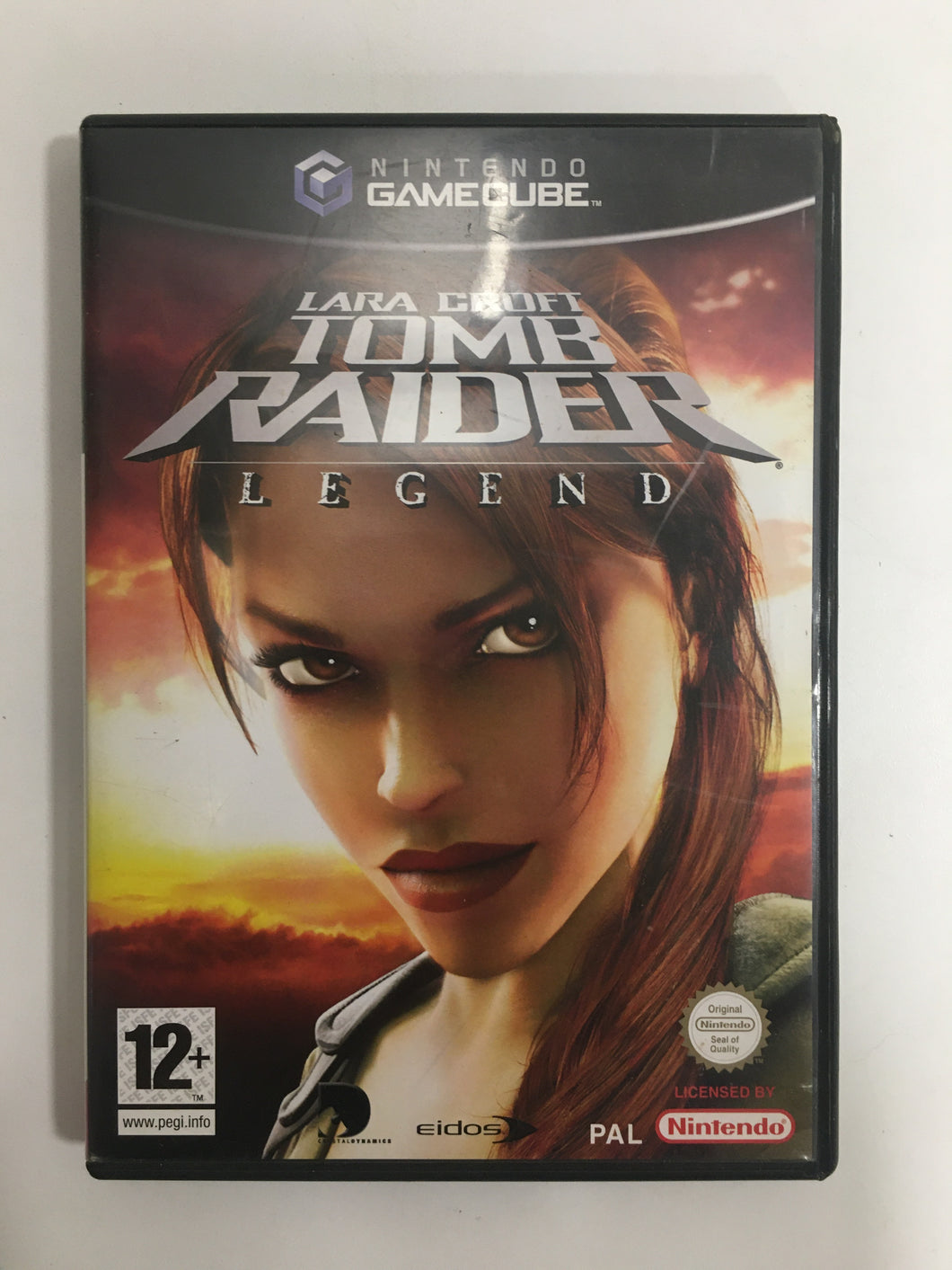 tomb raider legend Nintendo Game cube PAL sans notice