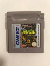 Charger l'image dans la galerie, Turtles fall of the foot clan FAH Nintendo Game boy