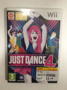 just dance 4 nintendo wii avec notice