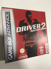 Charger l'image dans la galerie, driver 2 game boy advance FAH complet