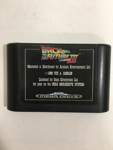 back to the future 3 sega megadrive