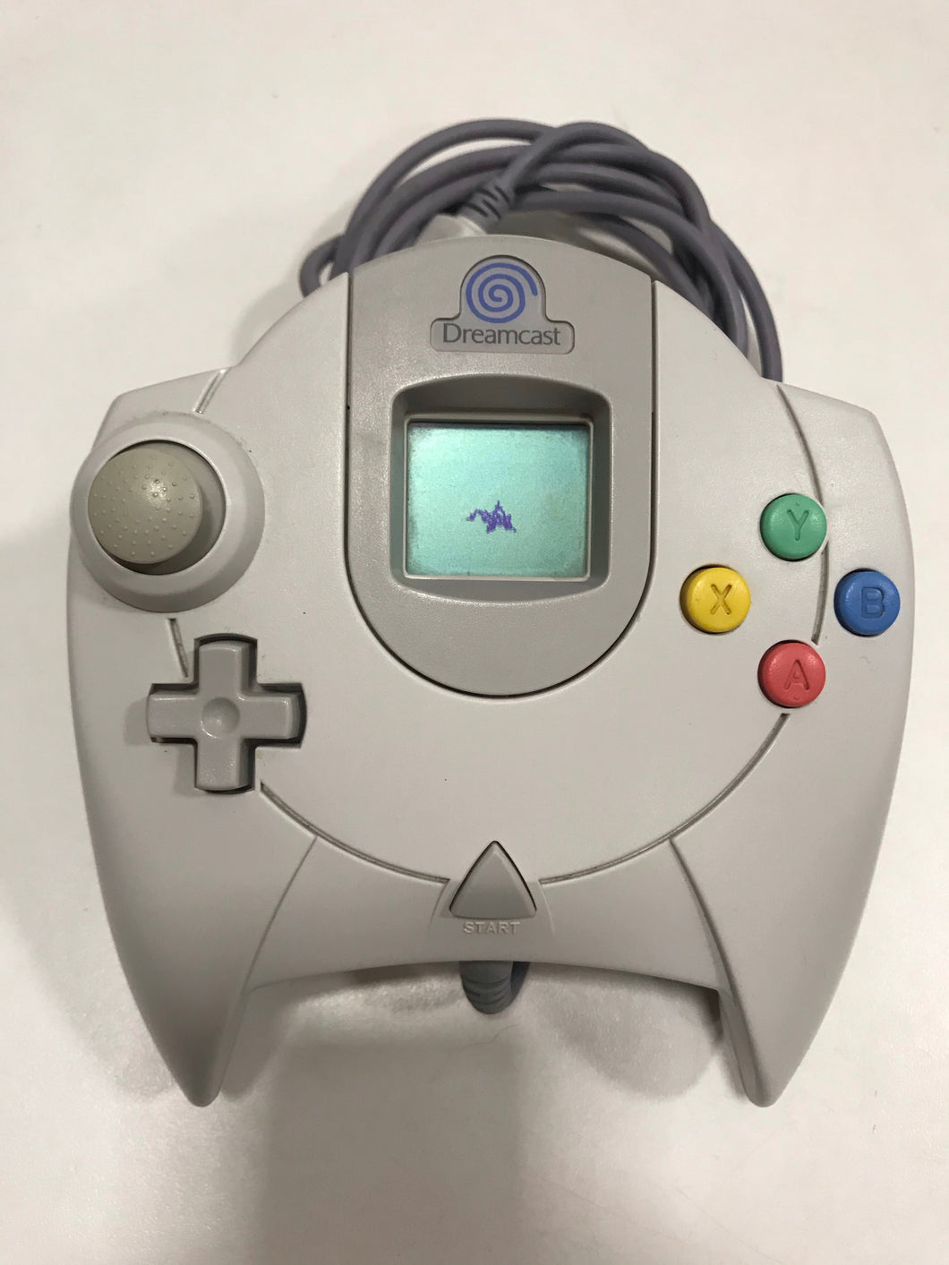manette sega dreamcast officielle + carte mémoire vmu officielle