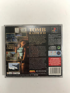 Tomb raider 2 PAL Sony PS1 complet + carte mémoire