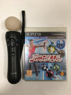 Sony playstation move + sports champions PS3
