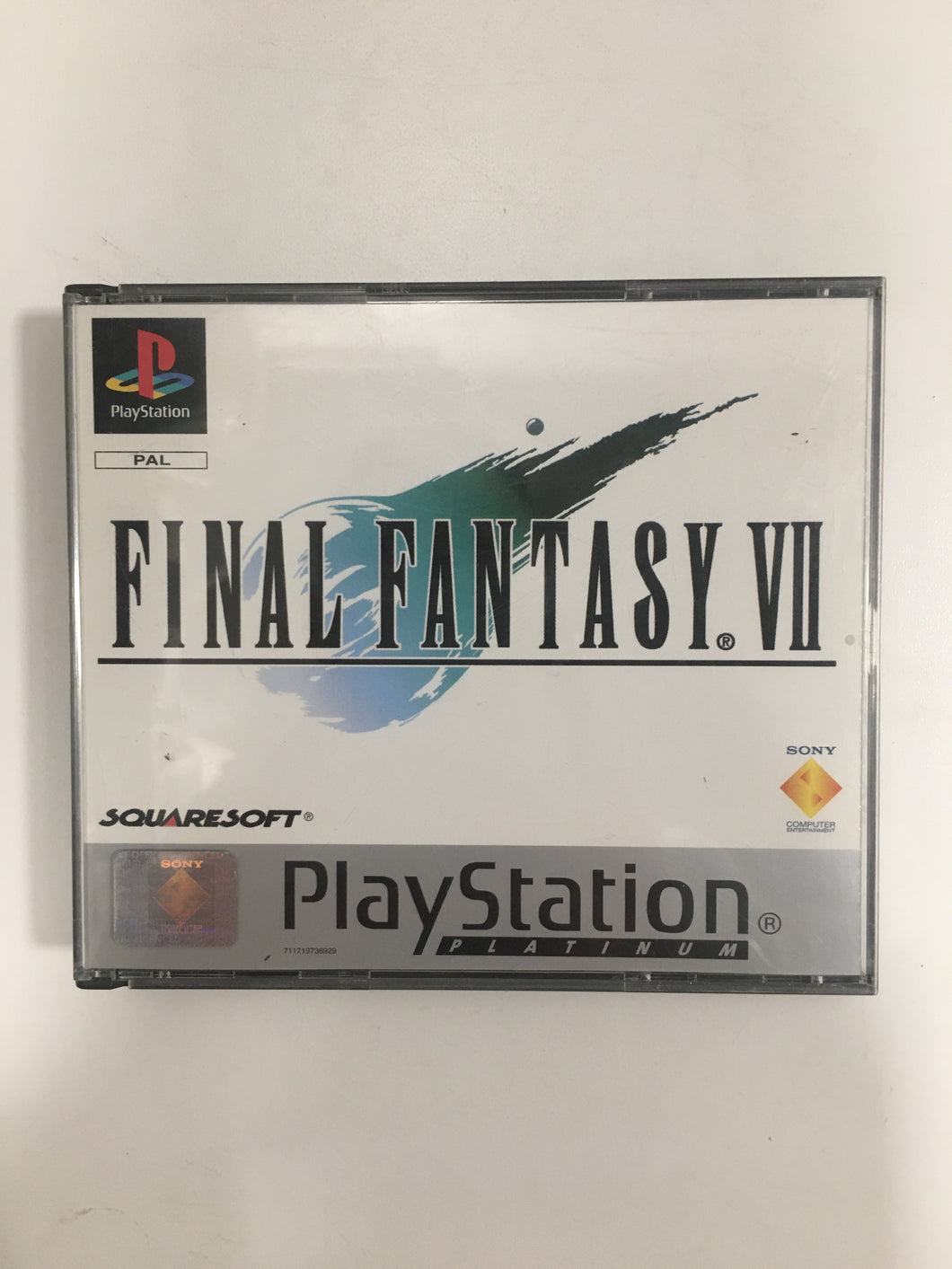 Final Fantasy 7 Sony Ps1 sans notice