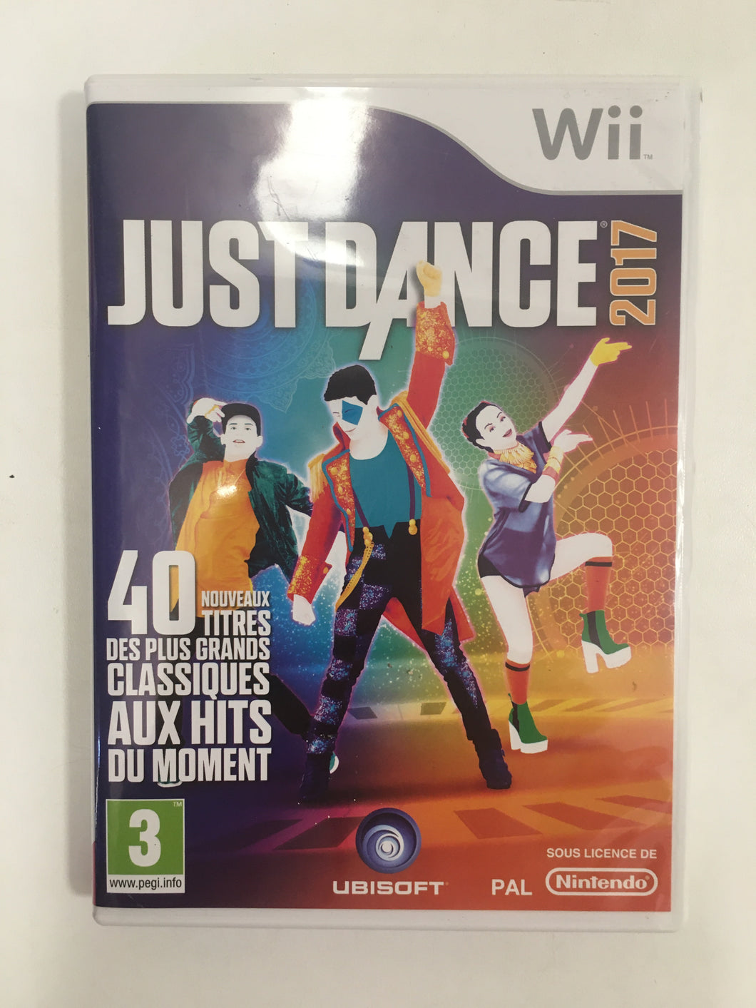 Just dance 2017 Nintendo wii avec notice