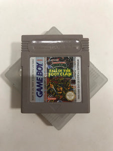 Turtles fall of the foot clan FAH Nintendo Game boy