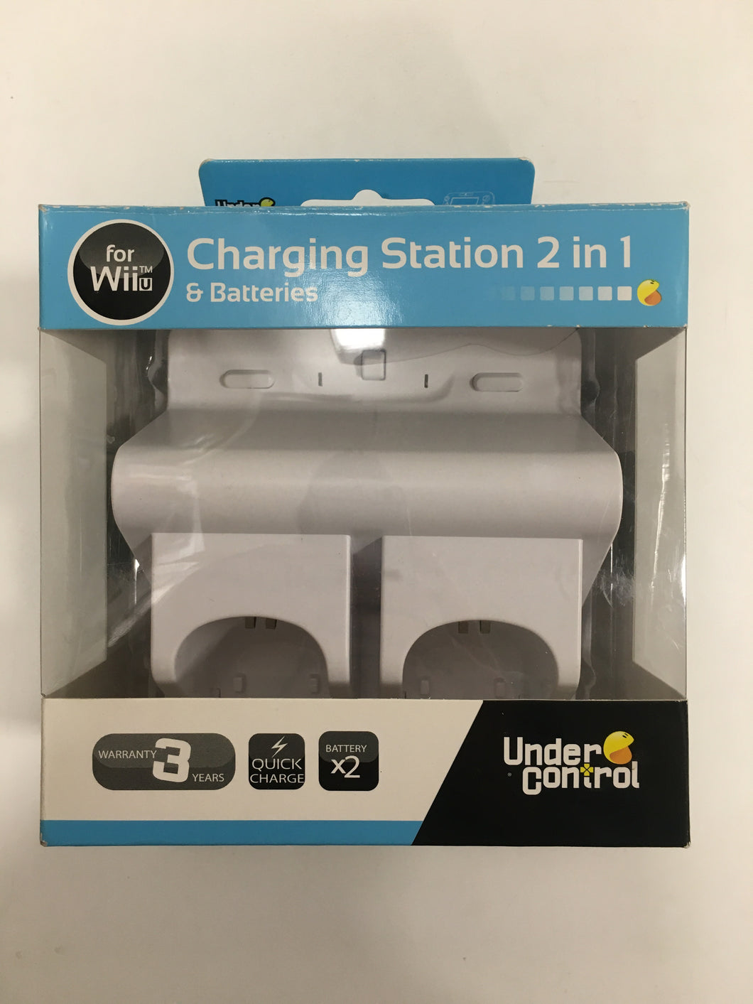 Station de charge + 2 batteries Nintendo wiiU Neuf