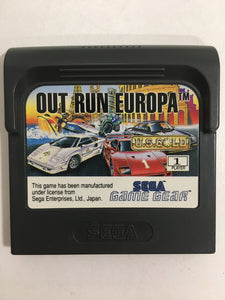 out run europa sega Game gear avec notice