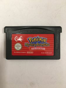 Pokémon mystery dungeon Nintendo Game boy advance