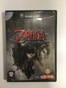 the legend of zelda twilight princess Nintendo gamecube sans notice