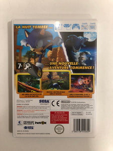 Sonic unleashed PAL Nintendo wii avec notice