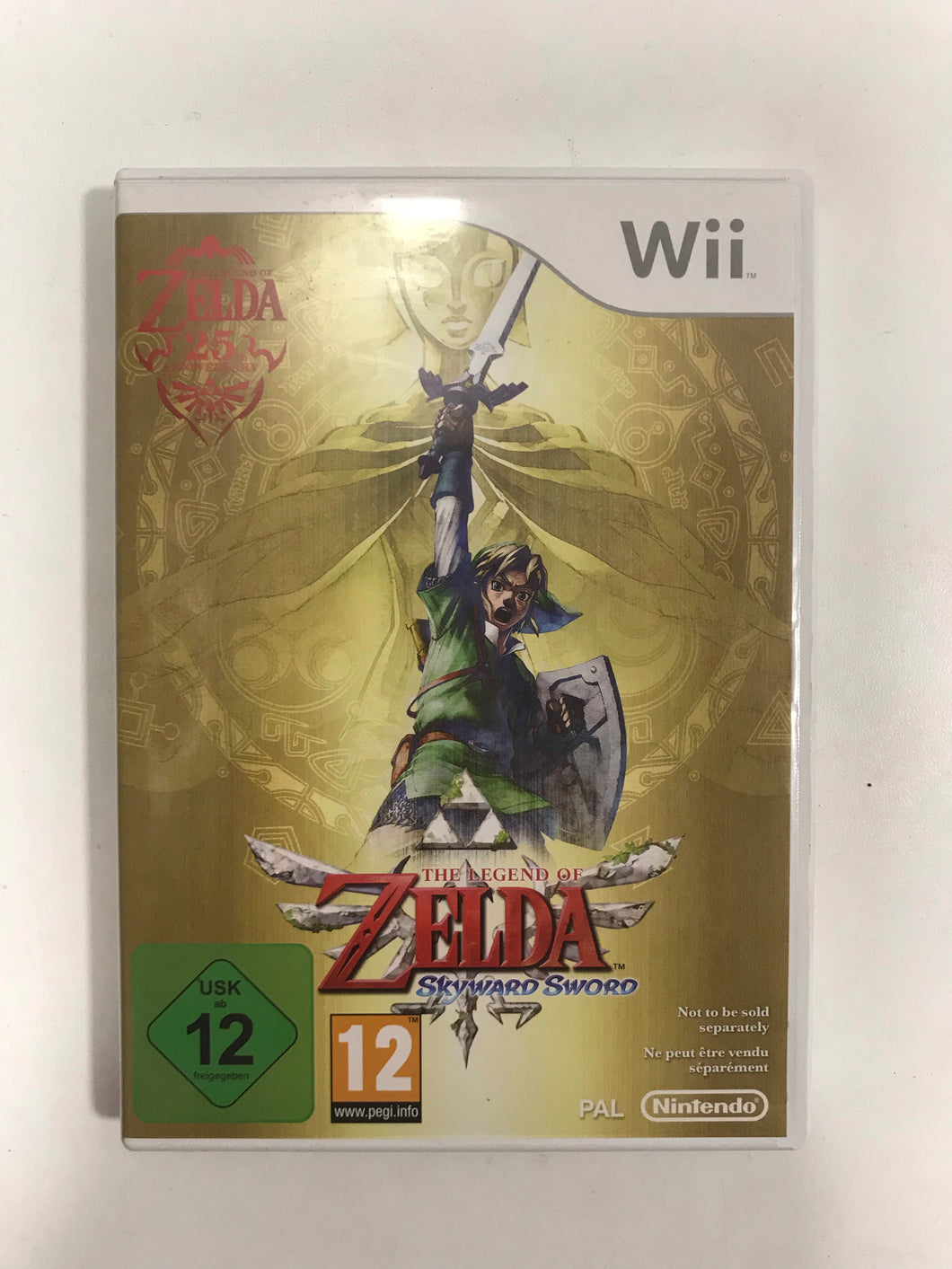 The légend of zelda skyward sword PAL Nintendo wii complet