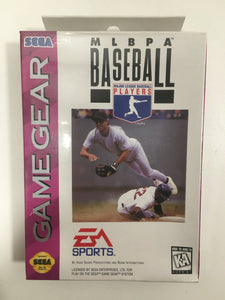 Mlbpa baseball sega Game gear neuf sous blister