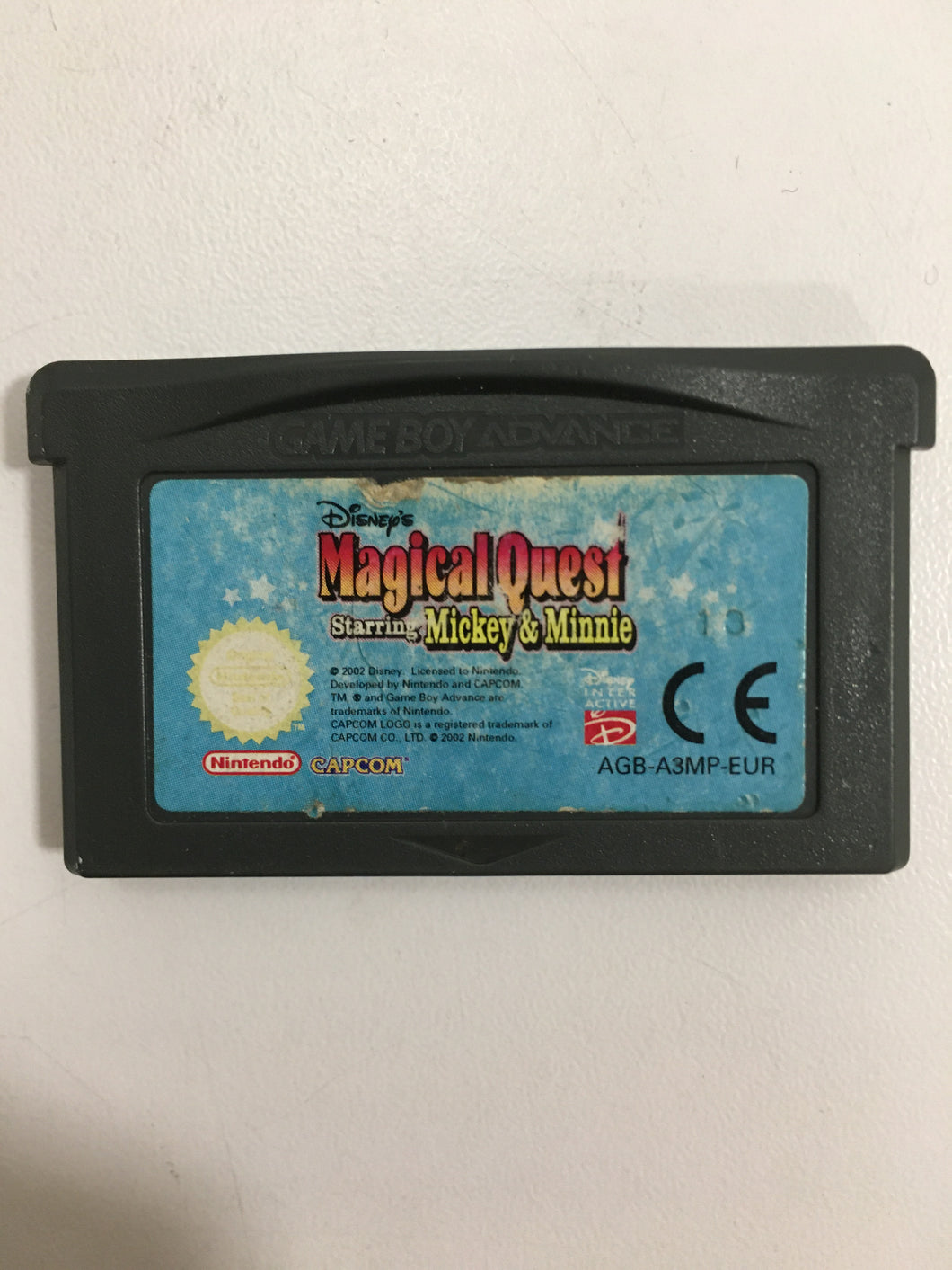 Disney magical quest Mickey et minnie Nintendo Game boy advance