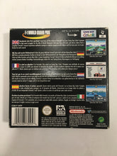 Charger l'image dans la galerie, f1 world grand prix Nintendo Game boy advance avec notice